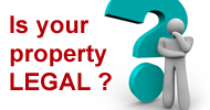 Is your property legal?